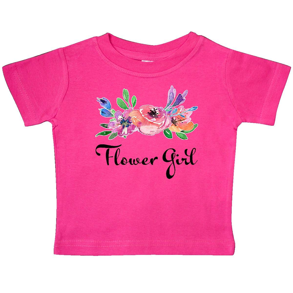 inktastic Flower Girl with Bouquet Baby T-Shirt