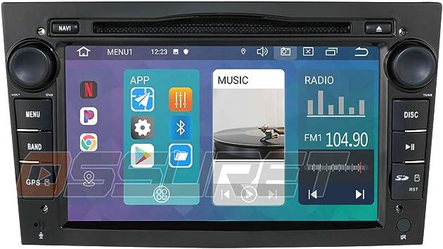 Android 10 Car GPS Navigation Bluetooth Vehicle Radio 1080P Video Stereo Player Se Adapta para Opel Antara Combo Meriva Signum Support Android & iOS ...
