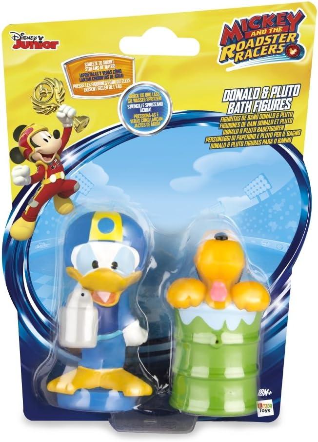 IMC – Mickey Mouse Surtido de paquetes de 2 figuras de baño, 182769, color aleatorio: Amazon.es: Juguetes y juegos