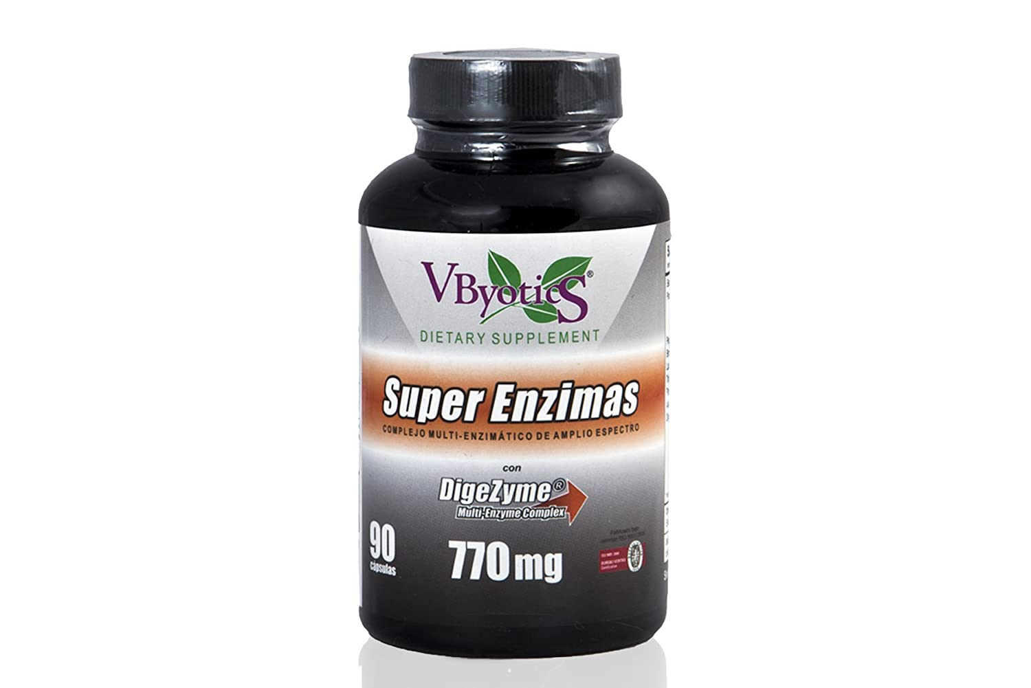 VBYOTICS - SUPER ENZIMAS 90cap VBYOTICS: Amazon.es: Salud y cuidado ...