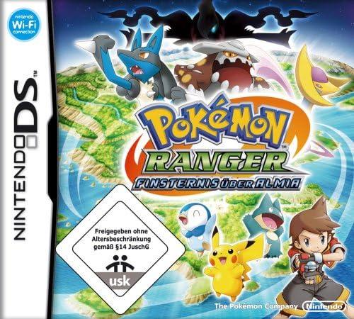 Nintendo Pokemon Ranger Finsternis über - Juego (Nintendo DS, RPG (juego de rol), EC (Niños)): Amazon.es: Videojuegos