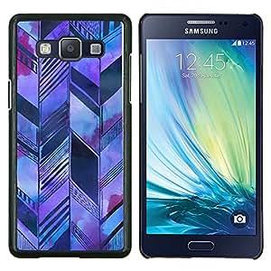 Stuss Case / Funda Carcasa protectora - Arquitectura Bosquejo púrpura - Samsung Galaxy A5 ( A5000 ) 2014 Version