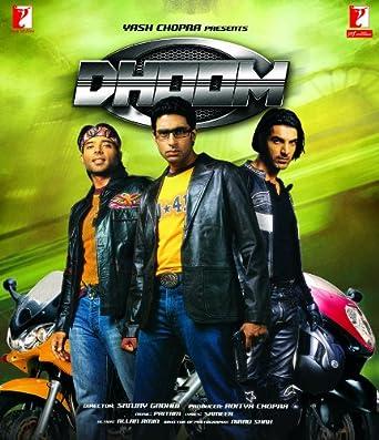Dhoom 2004 Bollywood Movie / Indian Cinema / Hindi Film / DVD 2006: Amazon.co.uk: Abhishek Bachchan, Uday Chopra, John Abraham, Esha Deol, Rimi Sen, Manoj Joshi, Sanjay M. Singh, Amir Farid, Mehul