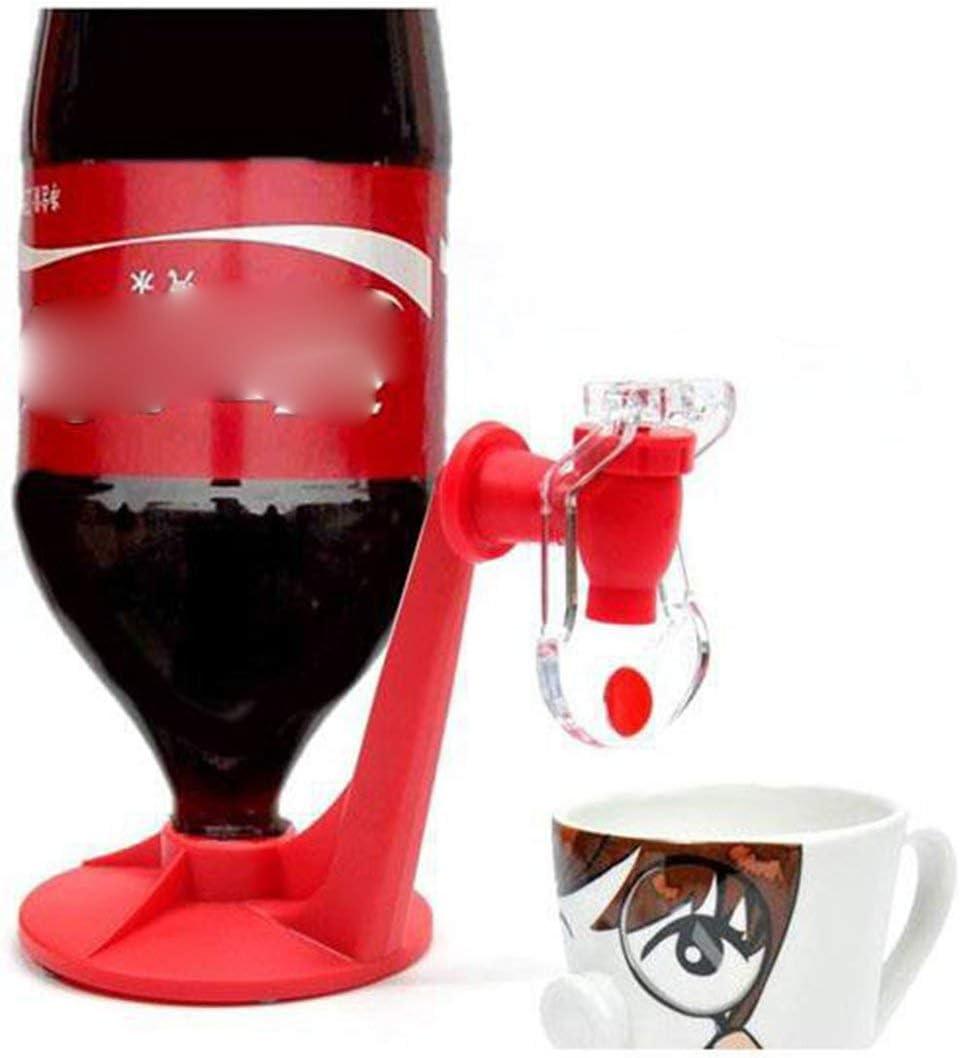 Logicstring Coke Bottle Inverted Water Dispenser Drinking Fountain Drink Machine Switch Drinking Water Soda Drinker