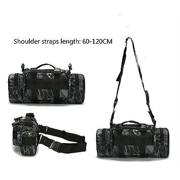 10d6dd141 Militar táctica cintura Pack bandolera al aire libre bolsa MOLLE Camping  viaje senderismo conducción pesca deportes