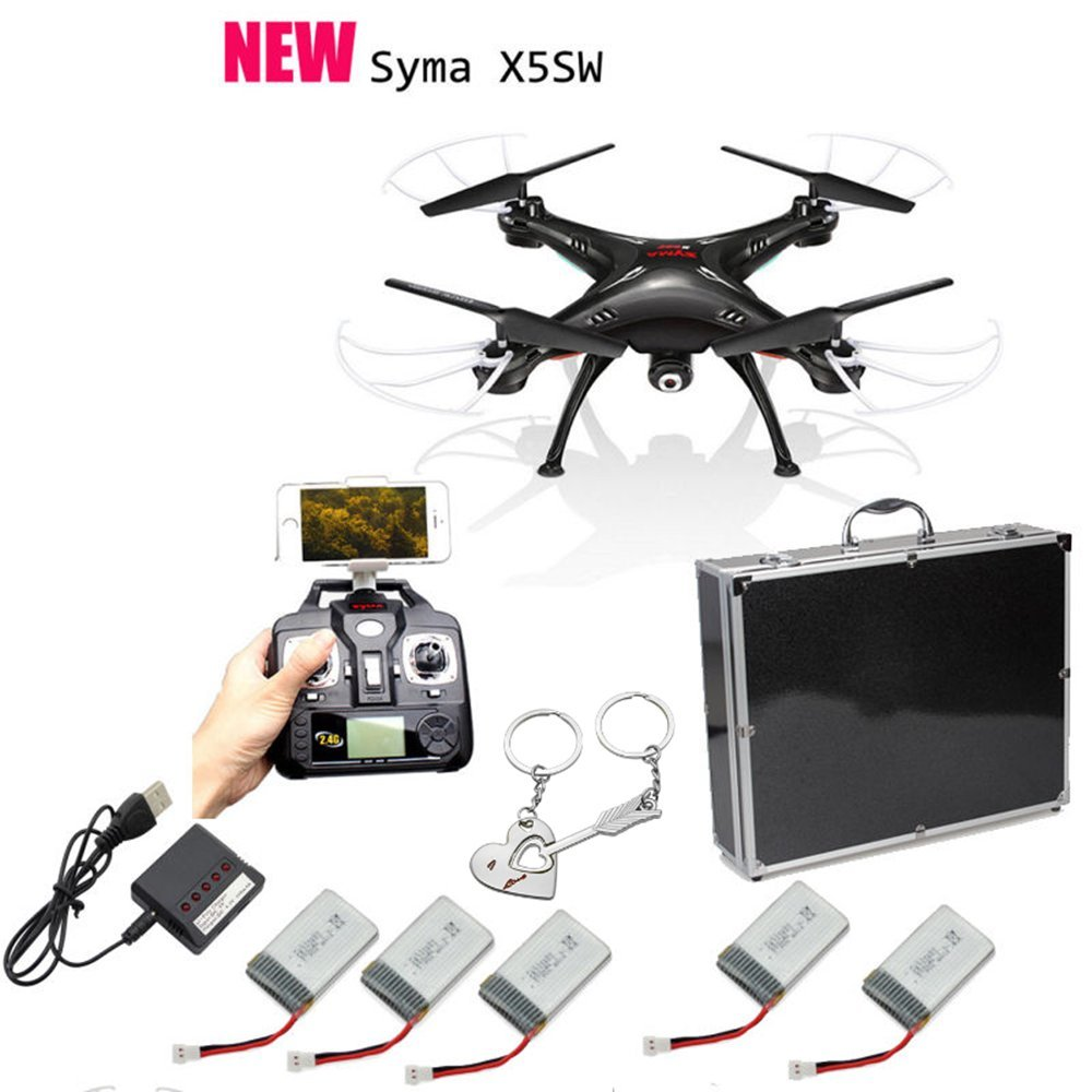 OneBird Syma X5SW Wifi FPV en tiempo real 2.4G RC Quadcopter Drone ...