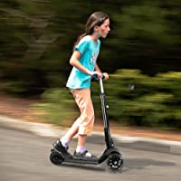 Banne Height Adjustable Lean to Steer 3 Wheel Kick Scooter with Flashing PU Wheels