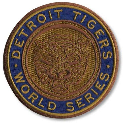 Series Patch World Emblem (Emblem Source MLB Detroit Tigers 1968 World Series Patch)