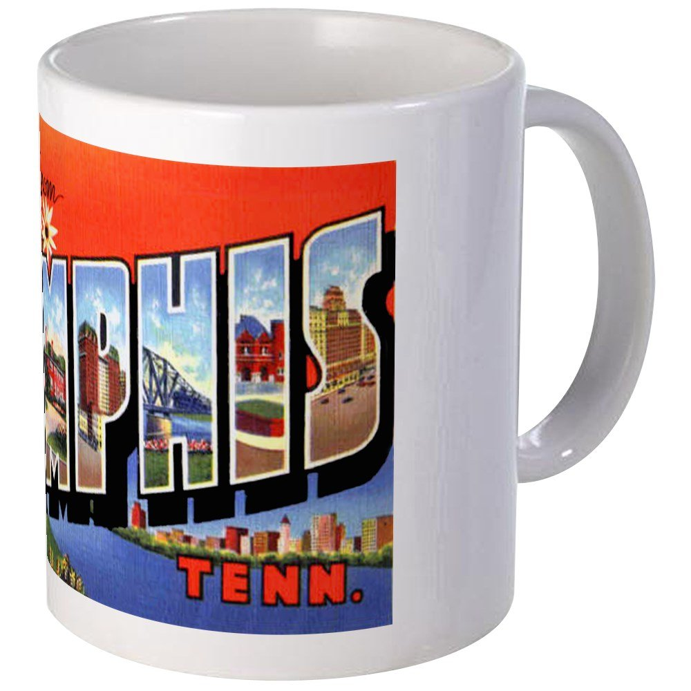 CafePress - Memphis Tennessee Greetings Mug - Unique Coffee Mug, Coffee Cup by CafePress