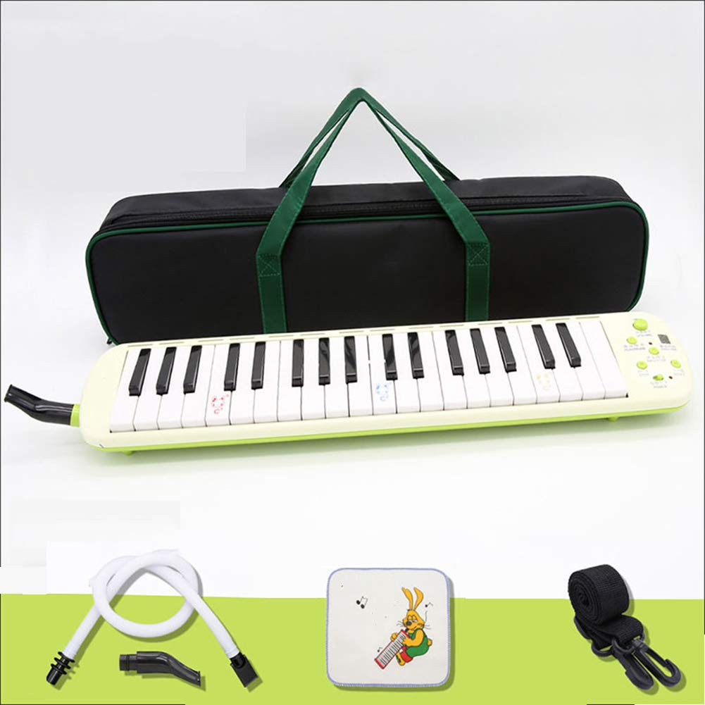 HBIAO 37-Key Melodica, Children's Beginners Students Teaching Adult Professional Female Men to Play Tone Piano
