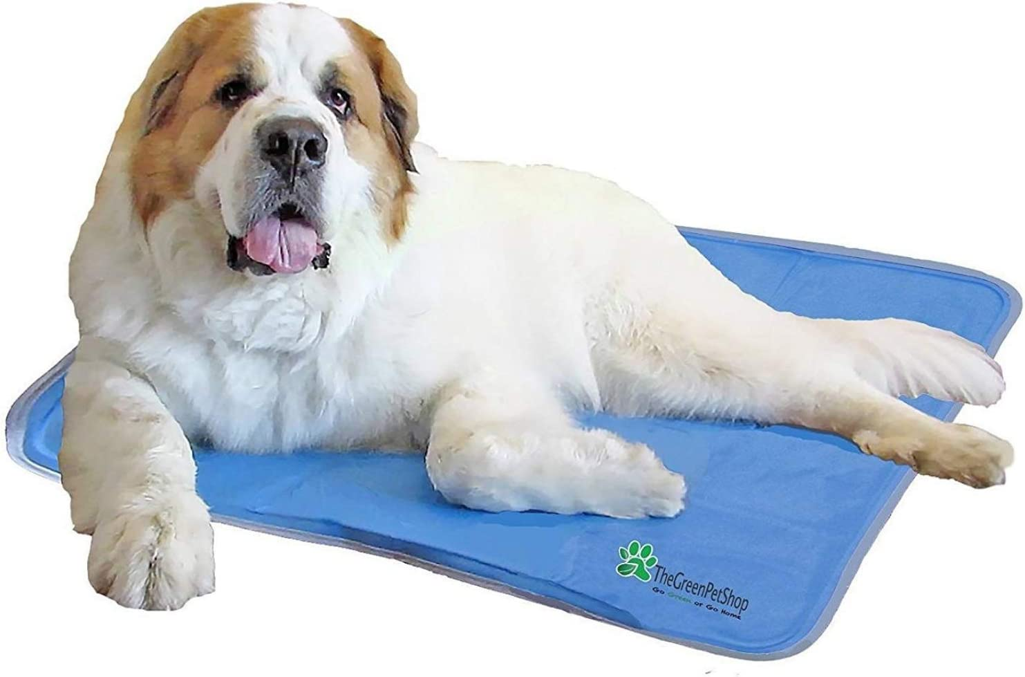The Green Pet Shop Dog Cooling Mat Pressure Activated Gel Cooling Mat For Dogs This Pet Cooling Mat Keeps Dogs And Cats Comfortable All Summer