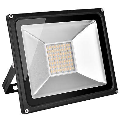 250 Watt UFO LED High Bay Lighting, Coolkun Ultra Efficient, Warehouse LED Lights, Commercial Lighting, Daylight White 6000K, 18000Lm, Waterproof, 110V, SMD (50W): Industrial & Scientific
