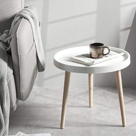 Amazon.com: ZHAOYONGLI Side Table Desk End Bedside Snack ...
