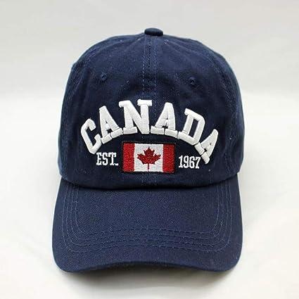 GHUKI Sombrero Sombrero de Las Gorras de béisbol del Bordado de la Letra de Canadá de la Marca para los Hombres al por Mayor ...