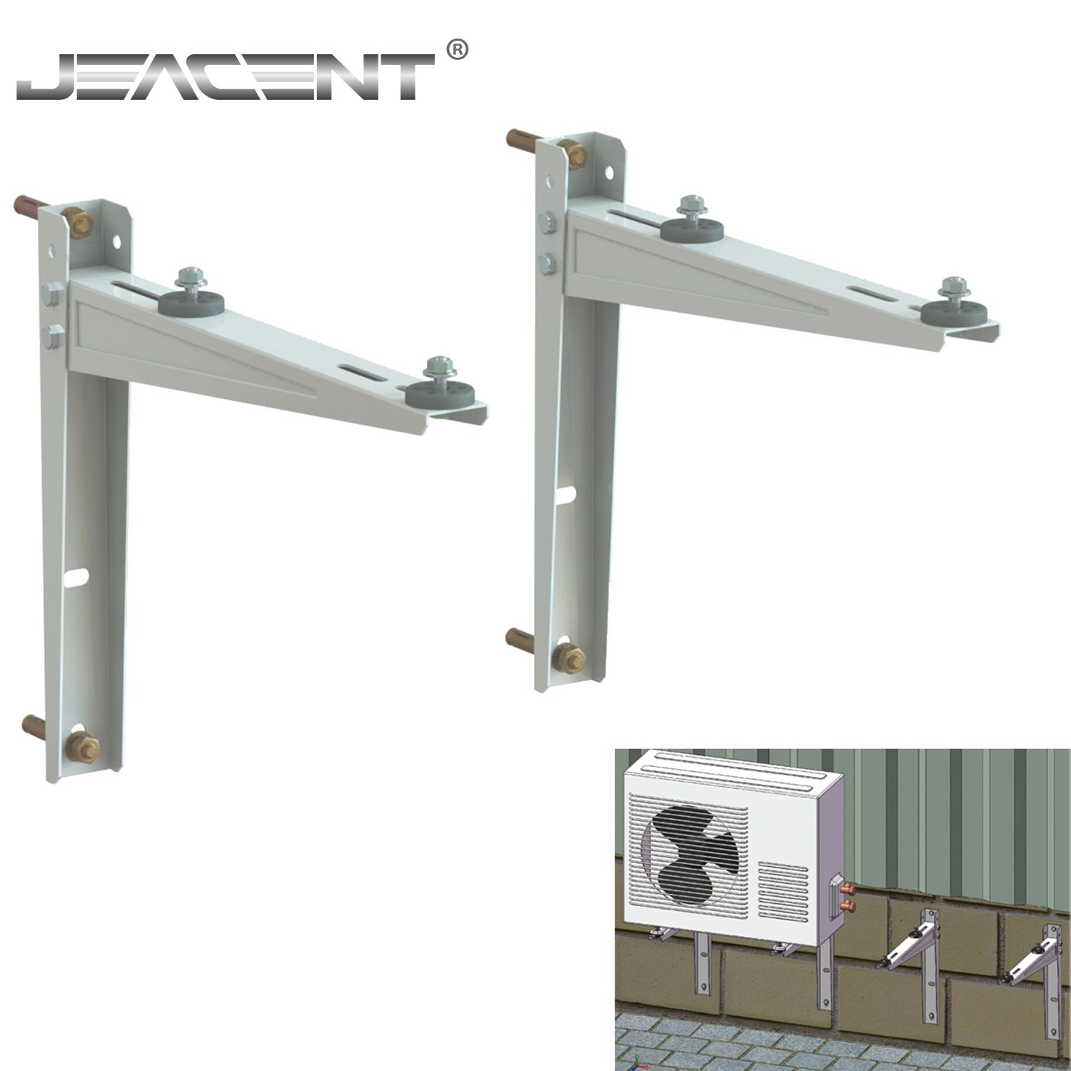 Mini Split Wall Mounting Bracket for Ductless Air Conditioner 9,000-36,000BTU Condensers