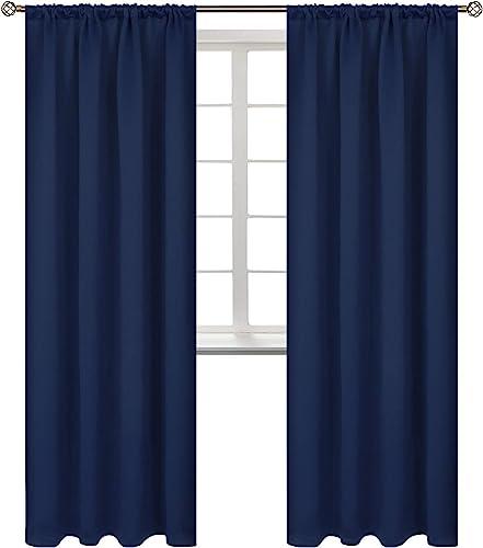 BGment Rod Pocket Blackout Curtains