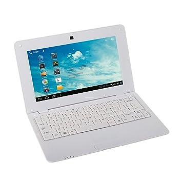 Soledpower® Nuevo (Android 4.2 - 1 GB de RAM, 4 GB de disco duro) Sólido blanco del ordenador portátil ...