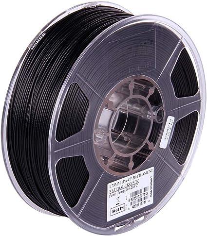 Aibecy eSUN ePA-CF 1.75 mm Filamento relleno de fibra de carbono 1 ...