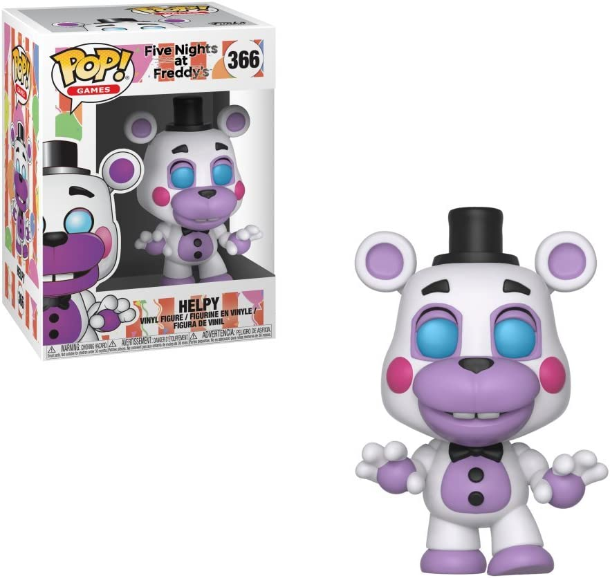 Five Nights at Freddys Pizza Simulator-Helpy Collectible Figure Funko Pop Games Multicolor
