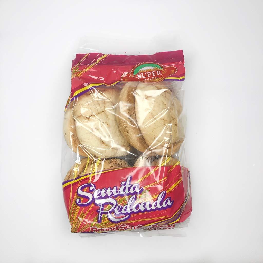 SDP Semita Redonda / Round Sweet Bread 10-PACK (BOX)