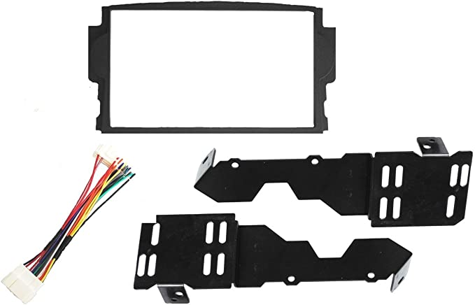 acura tl amp wiring amazon com new  aftermarket radio installation double din dash  aftermarket radio installation double