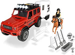 Simba Dickie Play Life Horse Trailer Set