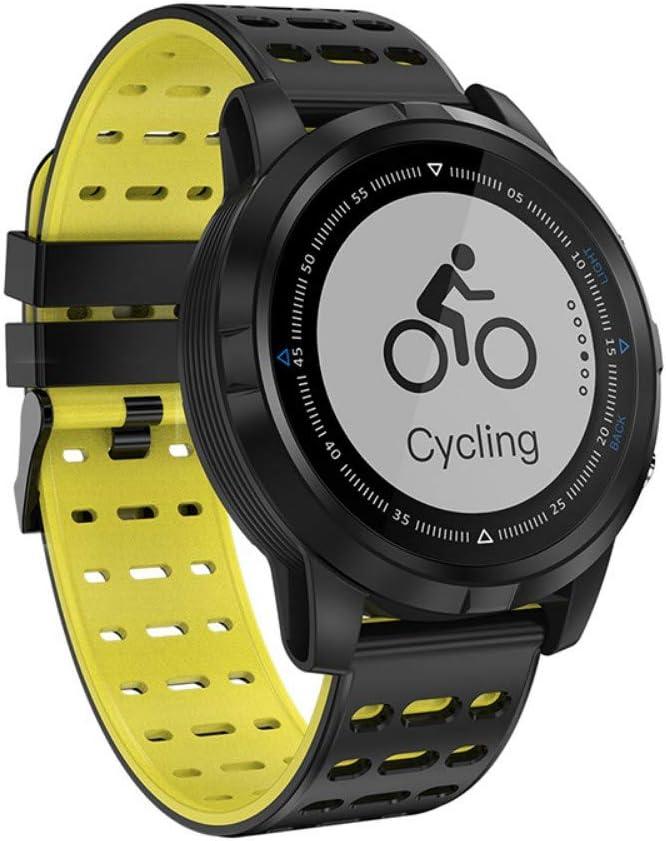 NFGGLM Reloj Inteligente Deportivo Escalada Fitness Equitación GPS Pista Multifunción