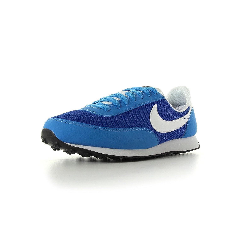Nike Elite Leder Sneaker Gr EUR 39 UK 6 blau Schuhe low Turnschuhe SI Waffle  39 EU