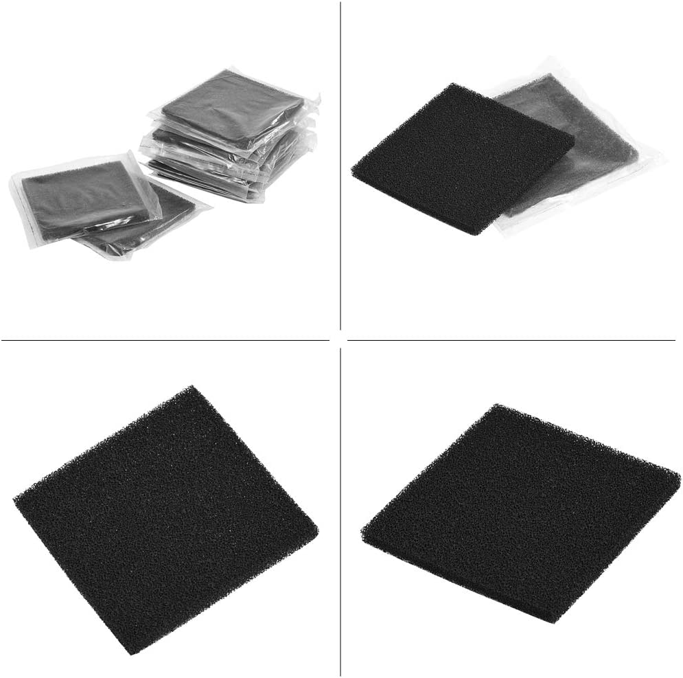 Smoke Absorber Fume Extractor Wacent Durable Auxiliary Tools 10pcs Activated Carbon Filters 13cm x 13cm for Soldering Smoke Absorber Fume Extractor
