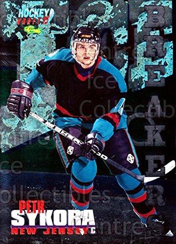 Draft Center Ice ((CI) Petr Sykora Hockey Card 1995 Classic Hockey Draft Ice Breakers (base) 16 Petr Sykora)