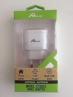 Home - Cargador de pared con 2 puertos USB (4,8 A) (