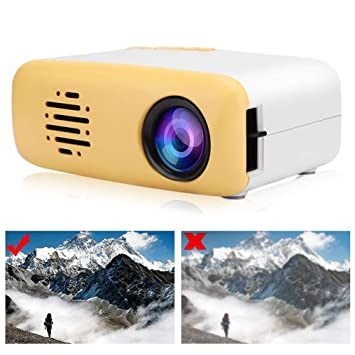 Mini proyector, Lindo proyector de Video LCD TFT LED HD 1080P ...