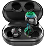 Wireless Earbuds Bluetooth 5.0 Headphones, 120H Playtime Deep Bass Stereo Sound Earbuds with Microphone, IPX8 Waterproof…