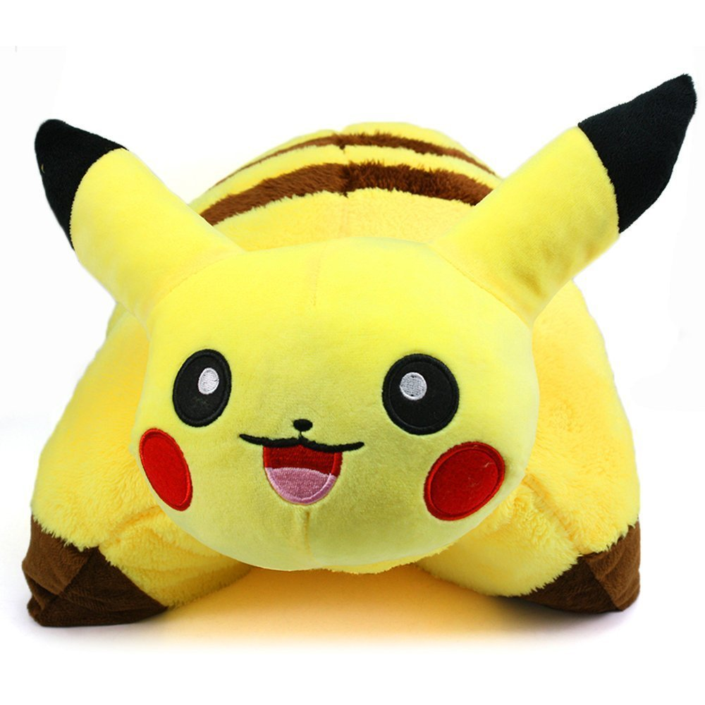 Neverland 42 x 33 cm/ 16.5 x 13 in Decorative Pillow Pet Cushion Pokemon Pikachu Plush Doll by Neverland-motor(Home & Garden) Railblaza 101368