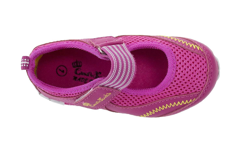 stylesilove Toddler Girls Lightweight Hook and Loop Walking Sneaker