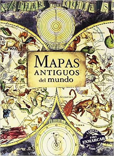 Mapas Antiguos Del Mundo Láminas Para Enmarcar Posters Art: Amazon ...