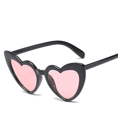 Amazon.com: Gafas de sol a la moda, diseño de corazón, 15983 ...