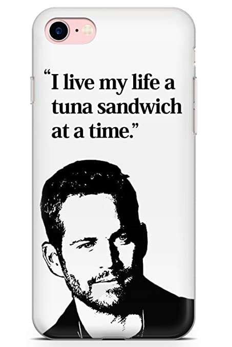 iPhone 8 Case, Paul Walker Phone Case by Casechimp | Ultra Thin Lightweight Gel Silicon