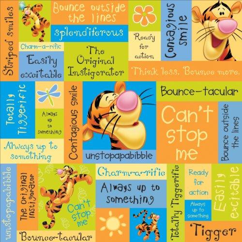 (Tigger Phrases Disney Winnie The Pooh Paper 12
