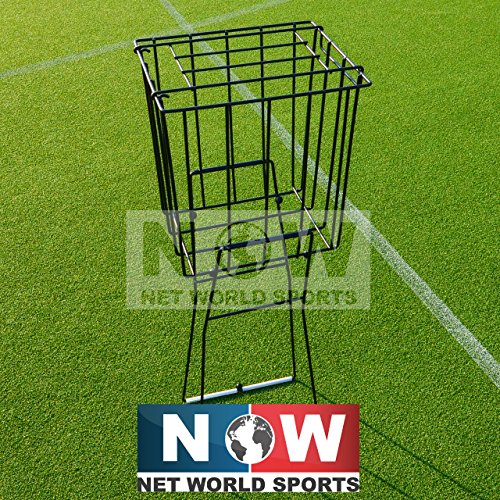 ProCourt 72 Collapsible Tennis Ball Hopper Ball Pick Up with Stand - 72 Tennis Balls