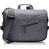 Qipi Messenger Bag - Shoulder Bag for Men & Women, 15