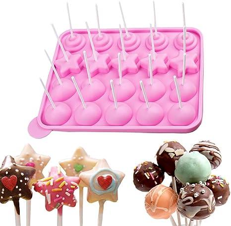 #1 Chocolate Lollipop Candy Mold