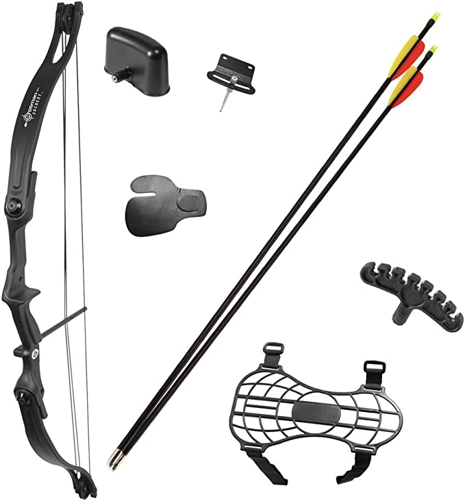 CROSMAN WILDHORN COMPOUND ARCHERY BOW KIT 29LB DRAW