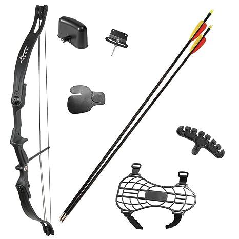 Amazoncom Crosman Elkhorn Jr Compound Bow Compound Archery