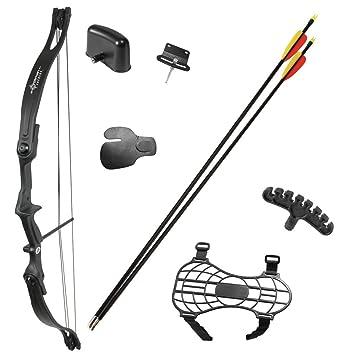 Amazon Com Crosman Elkhorn Jr Compound Bow Compound Archery