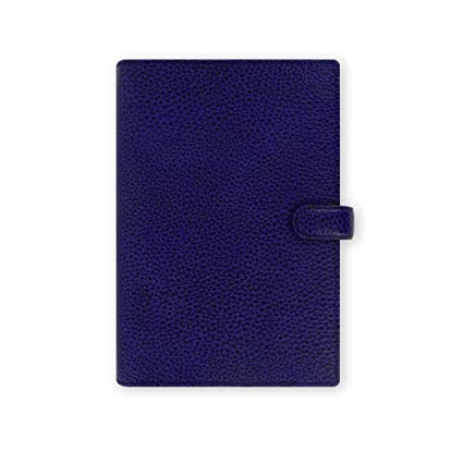 Filofax 2016 Calendar Finsbury Personal Leather Organizer Agenda Electric Blue 022499