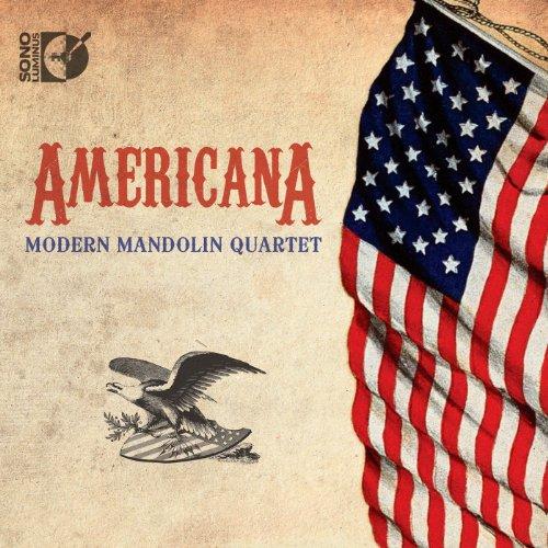 The Modern Mandolin Quartet - Americana (With CD)