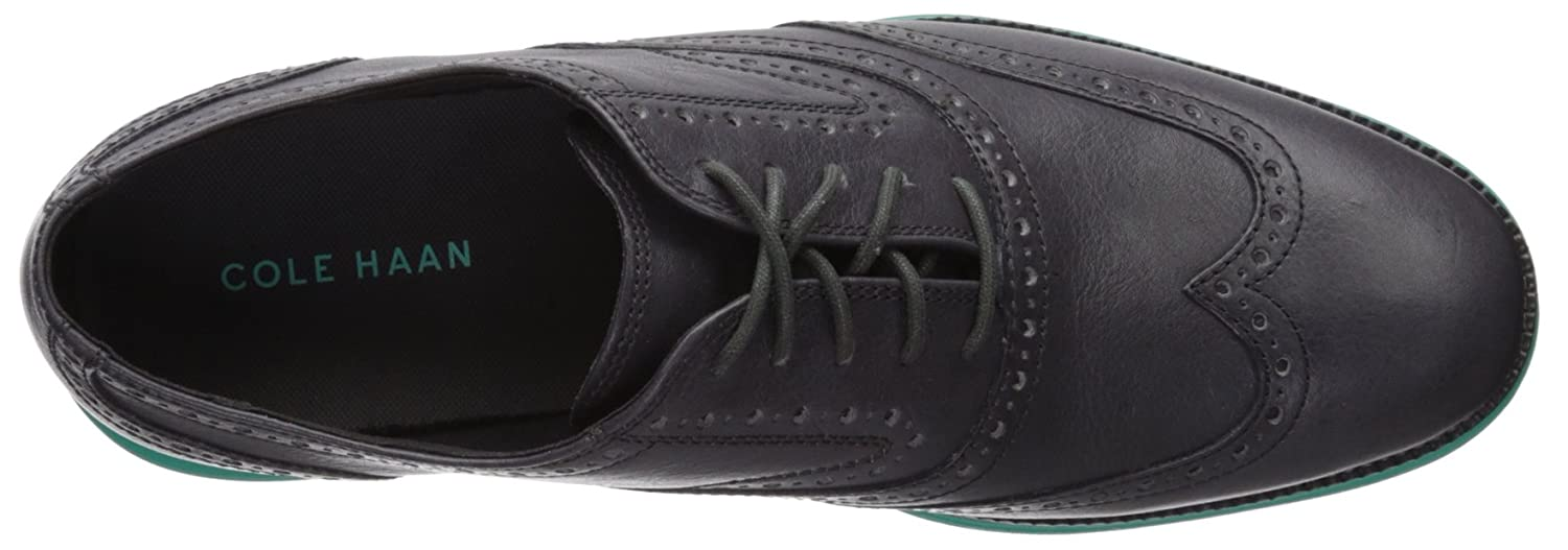 Cole Haan Men's O. Original Grand Short Wing OX II Leather/Pool Oxford 14 M US|Magnet Leather/Pool II Green B073HZNBPX b04592