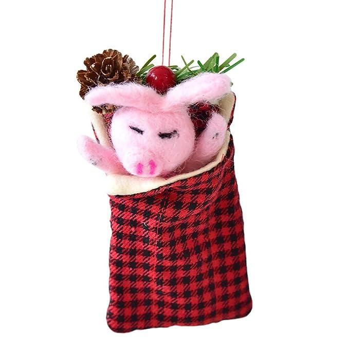 BHYDRY Bolsos de Envoltura Bolso de Dulces de Navidad Mini Suministros para Fiestas navideñas: Amazon.es: Hogar