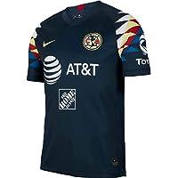 Nike 2019-2020 Club America - Playera de Manga Corta (Talla L), Color Azul Marino